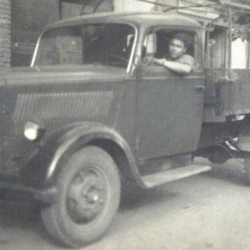 Nagyapám 1951Nyírbátor Opel Blitz